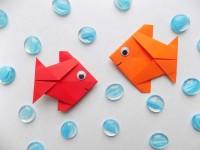 Оригами рыбка (170 фото): мастер-класс для начинающих, подробные схемы и шаблоны + примеры красивых поделок
