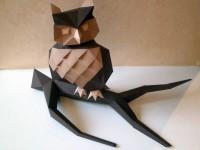 Как сделать сову из бумаги в технике оригами своими руками — готовая инструкция с фото и описанием