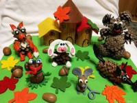 Осенние поделки (150 фото) — пошаговая инструкция для детей разного возраста, идеи оригинальных изделий своими руками