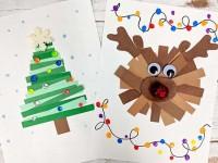 Открытка на Новый Год своими руками — оригинальные идеи для создания красивых открыток на праздник (120 фото идей)