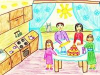 Как нарисовать семью своими руками пошагово: учимся создавать оригинальные рисунки карандашом или красками