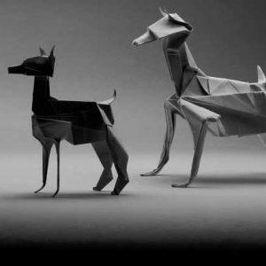 Оригами собака поэтапно — легкая схема с фото и описанием всех этапов создания оригами своими руками