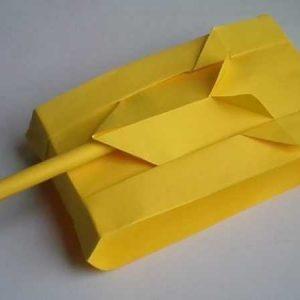 Оригами танк из бумаги поэтапно — легкая инструкция для начинающих. 120 фото лучших идей оригами