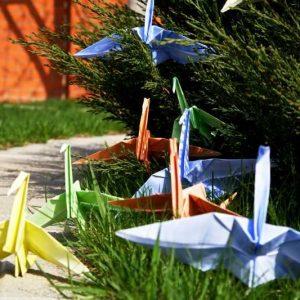 Журавлик оригами: 180 фото, подробный мастер-класс по созданию журавлика своими руками, простые схемы с описаниями для начинающих